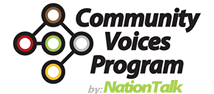 Community Voices Program Logo